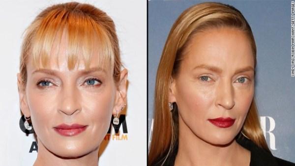 150210154629 uma thurman split story top Uma Thurman dice cambio en su cara fue maquillaje