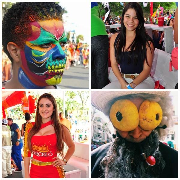 carnaval de santiago Carnaval de Santiago 2015:Segundo Domingo (un tro bellezas y disfraces muy originales)