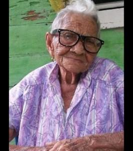 Felicidades a doña Chepina, que celebra 109 años de vida