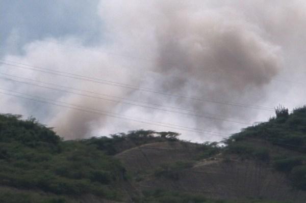 7e6cb16dc298f5ebc5c29b95ba1d1b5e 620x412 Humo del vertedero Rafey afecta parte de Santiago [RD]