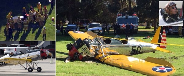 image134 Harrison Ford se encuentra estable tras accidente aéreo