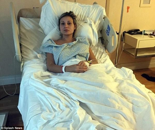 image41 Miss BumBum de nuevo al hospital por implantes del trasero infectados