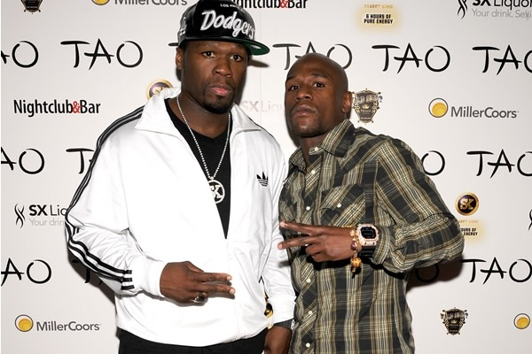 image78 50 Cent apuesta US$1.6 millones a Mayweather
