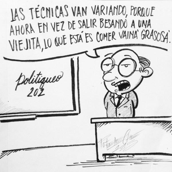 poteleche Politiqueo 202 [caricatura]