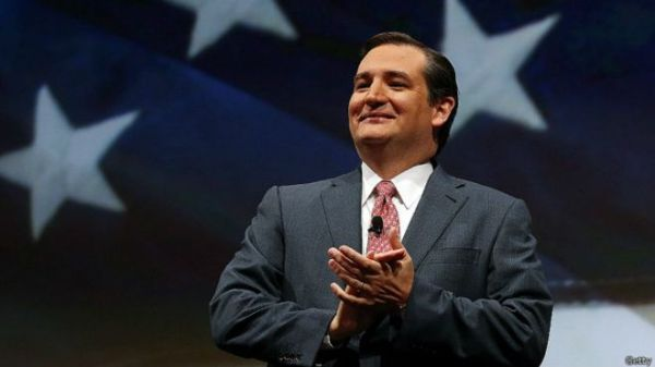 ted Senador republicano Ted Cruz anuncia su postulación a la Casa Blanca