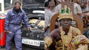 150406155652 rei mecanico 640x360 divulgacao nocredit El rey africano que gobierna su tribu por Skype desde Alemania