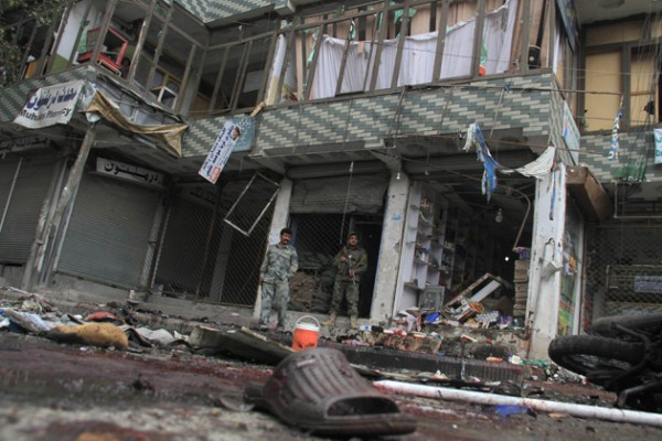 Suicide bomb attack in Jalalabad killed 23 people