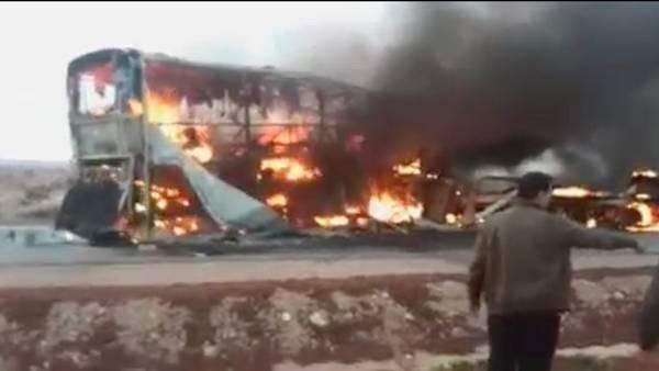 image148 Mueren 31 en choque de autobús en Marruecos
