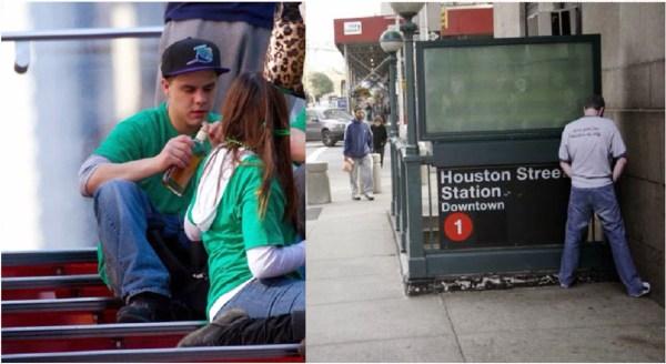 image390 En Nueva York procuran eliminar ordenanza prohibe beber y orinarse en público