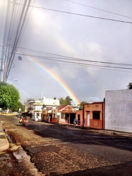 Arcoiris, la joya, santiago