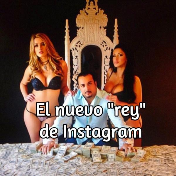 nuevo rey de Instagram