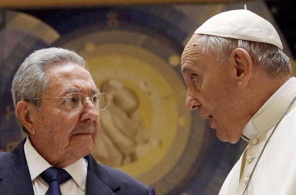 image181 El papa inspira a Raúl Castro a volver a la iglesia