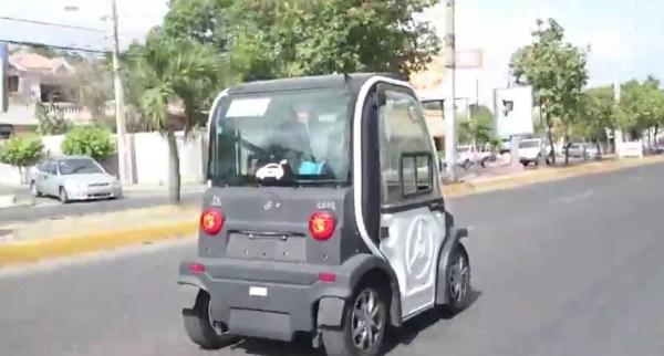 image550 Video   Vehículo eléctrico por las calles de Santiago