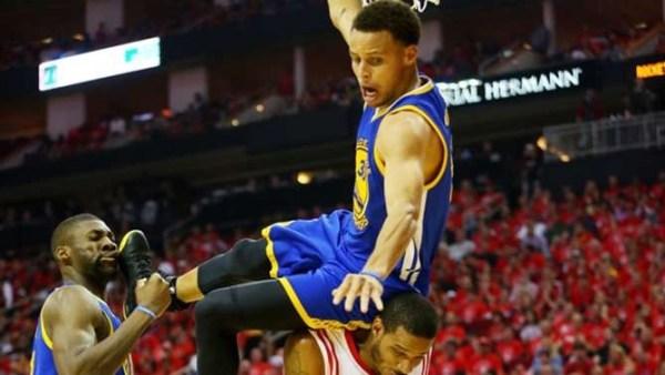 image617 NBA   La caída de Stephen Curry anoche