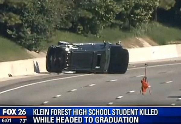 image175 EEUU: estudiante muere en accidente camino a su graduación