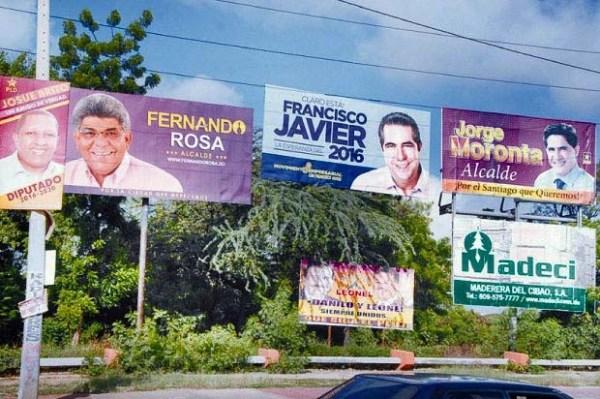 image88 Condenan a alcaldía Santiago a retirar propaganda
