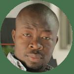 actor Toussaint Merionne,  un haitiano con papel protagónico en pelicula dominicana