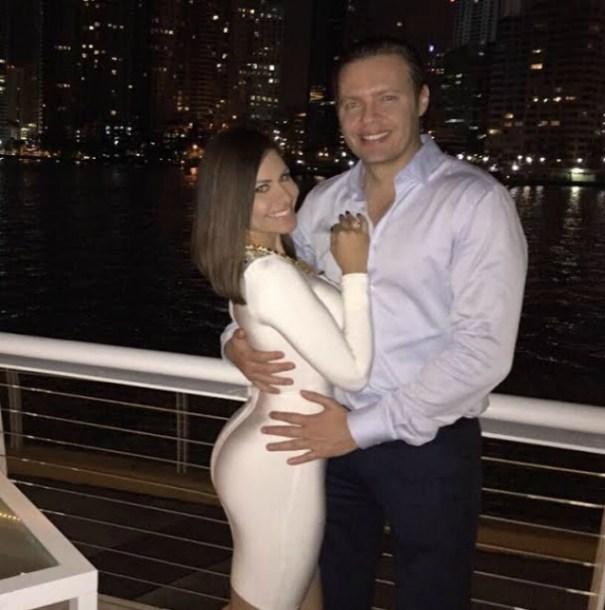 Jenny Blanco presenta su novio