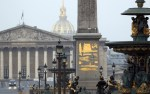 paris plaza de la concordia Se arma tiroteo en la ruta final de tour de Francia