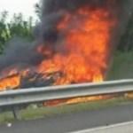 accidente samana VIDEO – Se salvó a chepa [RD]
