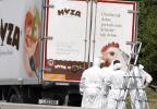 camion Asfixiados en un camión:Mueren 50 refugiados en Austria