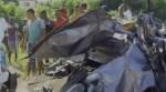 accidente autopista duarte VIDEO –Un muerto y varios heridos accidente Autopista Duarte