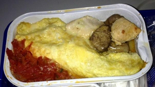 comida asquerosa FOTOS – Las comidas más guácala servidas en avión