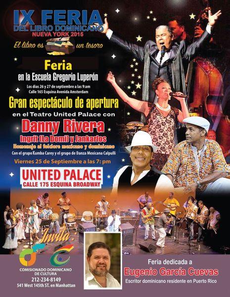 IX Feria del Libro Dominicano NY