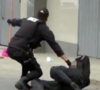 granada Granada se le explota a policía peruano