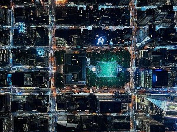 nueva york noche Fotos chulísimas Nueba Yol vista de noche