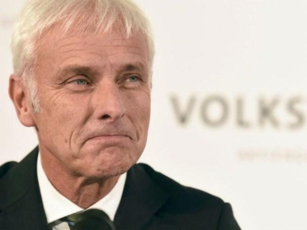 matthias mueller CEO Volkswagen anuncia botará a un lote de gente