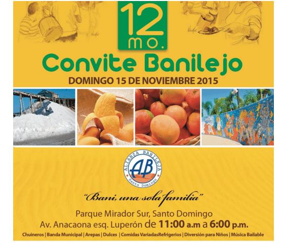 convite Celebración del duodécimo Convite Banilejo