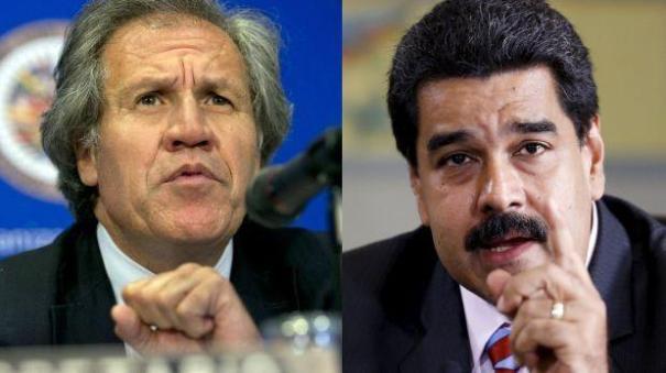 maduro almagro Nicolás Maduro le entra al secretario OEA