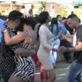 bailando Video   Miles de dominicanos amanecieron asi