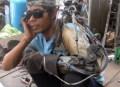 brazo bionico chatarra Video – Tipo fabrica brazo biónico a base de chatarra