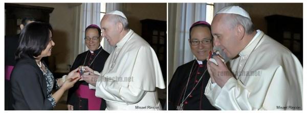 Fotos – Papa Francisco y la Virgen de la Altagracia, fotos por Misael Rincón