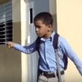nino La tremenda charla de un niño del campo