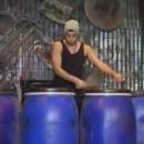 oso Percusionista de origen dominicano triunfa en STOMP
