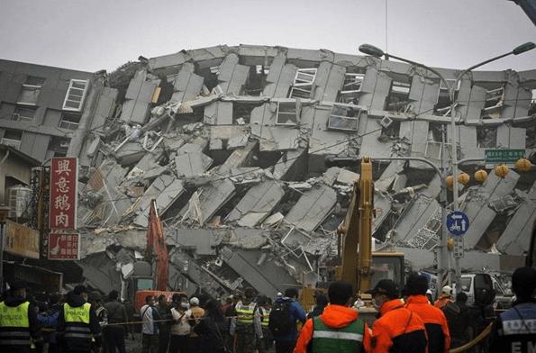 t Terremoto en Taiwán: Hay 475 heridos