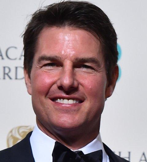 tom cruise Tom Cruise y su nuevo rostro