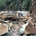 jaracoa Así quedó carretera de Jarabacoa tras derrumbe
