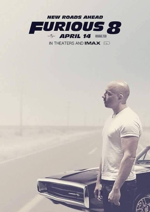 fast Poster de Furious 8