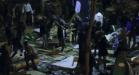 Pelea Refugiados París