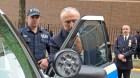 prueba balas Policía de NY con sus vehículos a prueba de balas