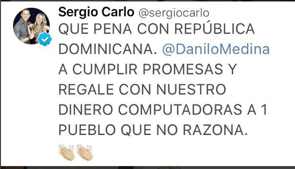 sergio El desahogo de Sergio Carlo