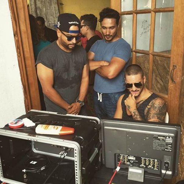 b97e2 13437348 1810048025891086 657177723 n Video   Maluma grabando en Santo Domingo