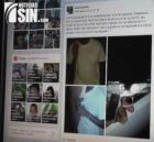 Fotos de delincuentes publicadas en Facebook