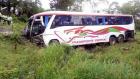 Accidente en la autopista Duarte