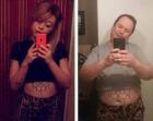 Un papá recrea los selfies sexys de su hija