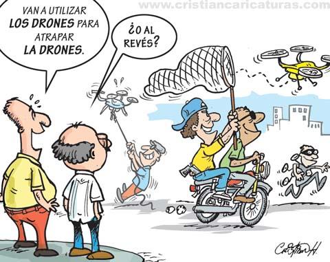 Drones contra la delincuencia